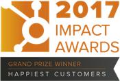 HubSpot Impact Awards Happiest Customers 2017