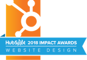 HubSpot Impact Awards Website Design 2018